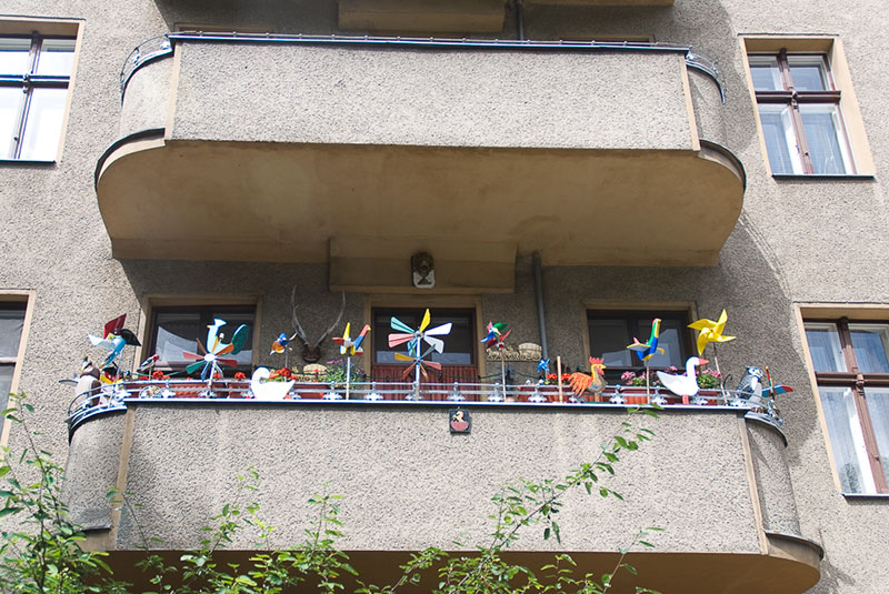 balcon-kreuzberg A berlin - Photo copyright Didier Laget