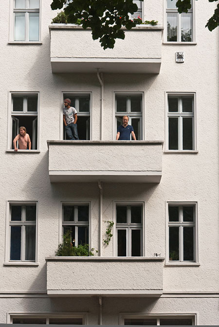 balkon A berlin - Photo copyright Didier Laget