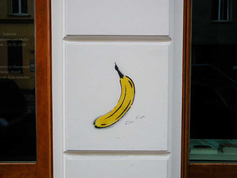 banane-thomas-baumgartel A berlin - Photo copyright Didier Laget