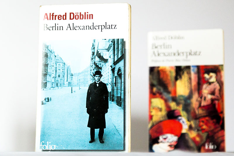 Nouvelle traduction pour Berlin Alexanderplatz Alfred Döblin - Photo DIdier Laget