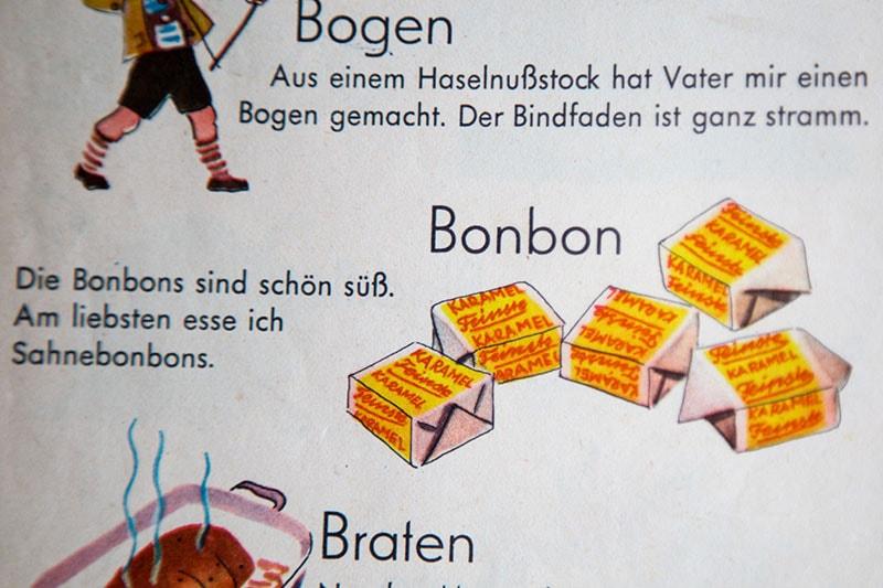 Comment dire bonbon en Allemand