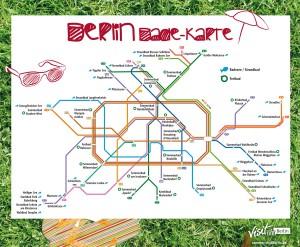 Listes des lacs et piscines en plein air autour de Berlin