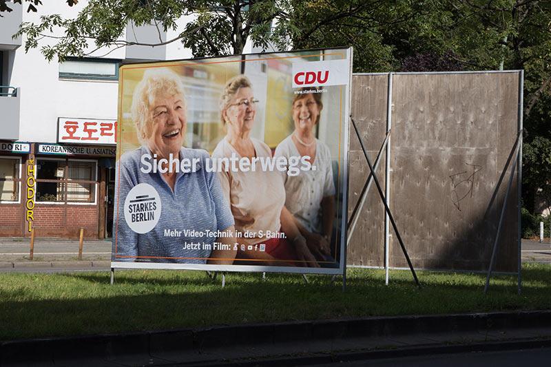 CDU  -  Mehr Video-Technik - Photo copyright Didier Laget