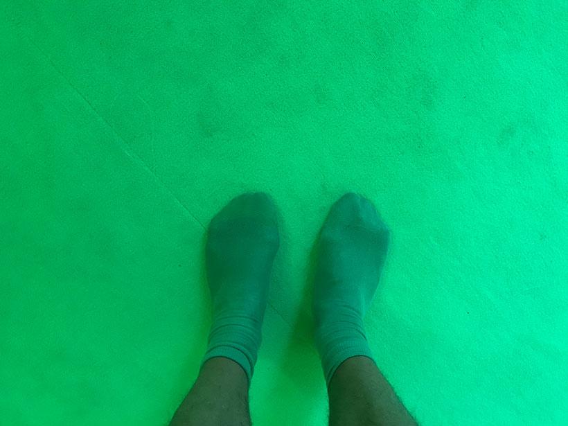 Chaussettes Vertes
