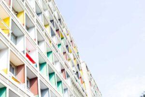 Cité radieuse à Berlin - photo Didier Laget