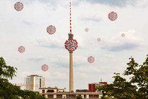 Evolution Covid-19 à BerlinPhoto Didier Laget