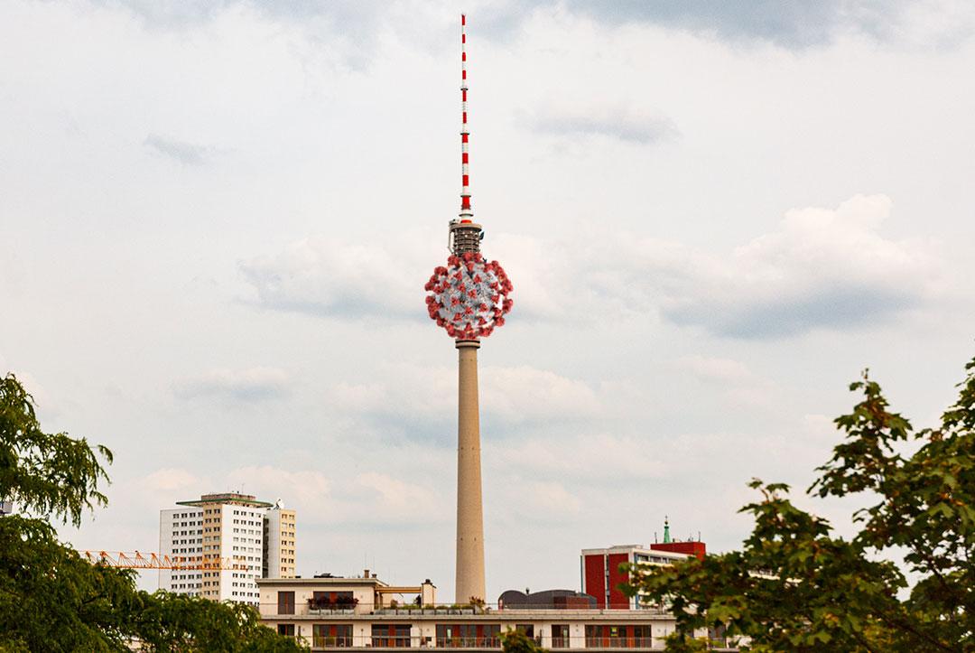 Le Covid à Berlin, Photo Didier Laget