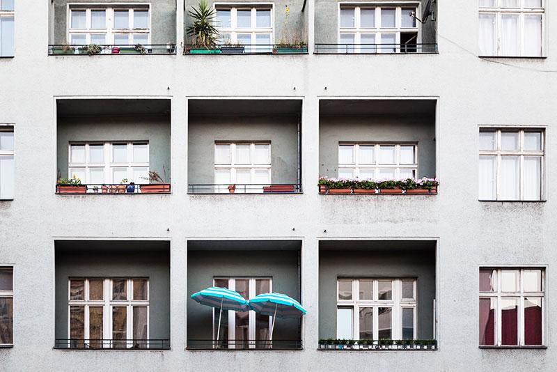 Deux Parasols - Photo Didier Laget