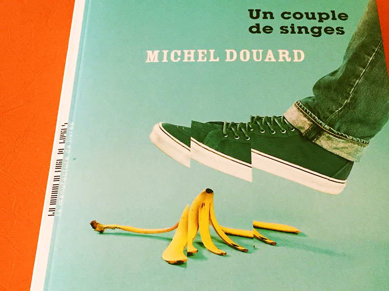 Michel Douard - Un couple de singesa