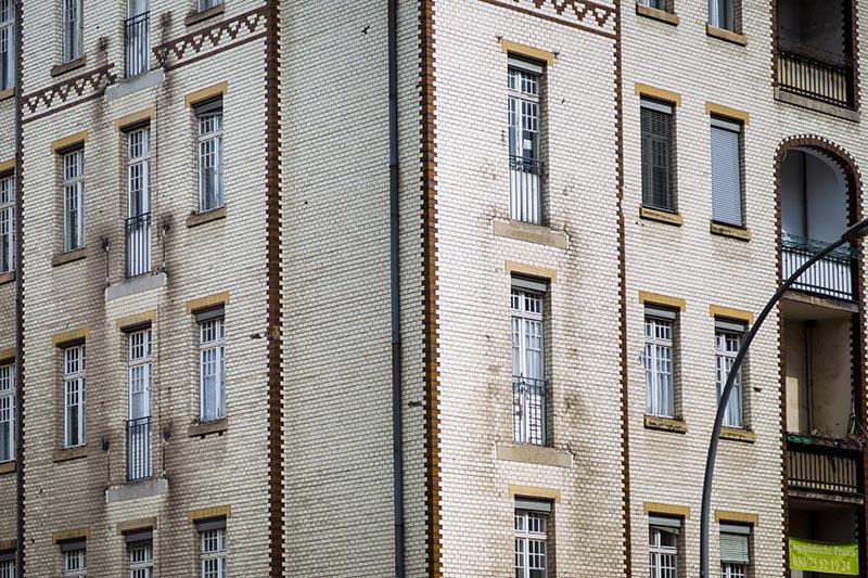 Reinickendorf façade - Photo Didier Laget