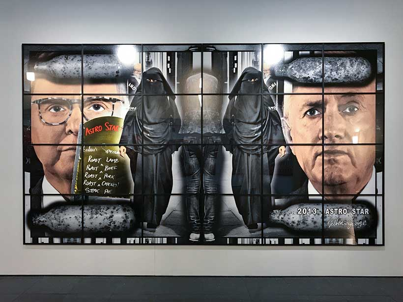 Gilbert et George - Photo Didier Laget