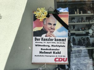 Helmut Kohl - Photo Didier Laget