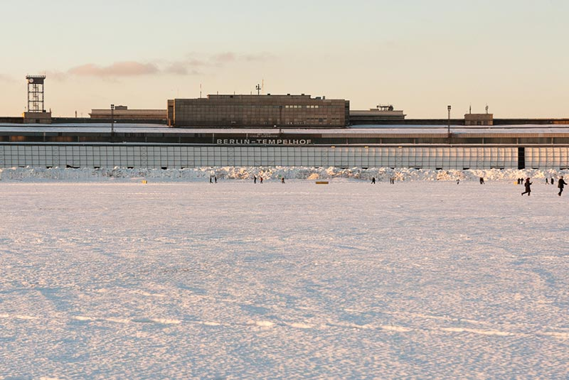 hiver-a-tempelhof A berlin - Photo copyright Didier Laget