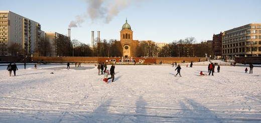 hiver-a-kreuzberg A berlin - Photo copyright Didier Laget