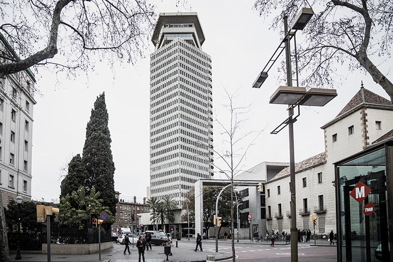 immeuble-a-barcelone  - Photo Didier Laget