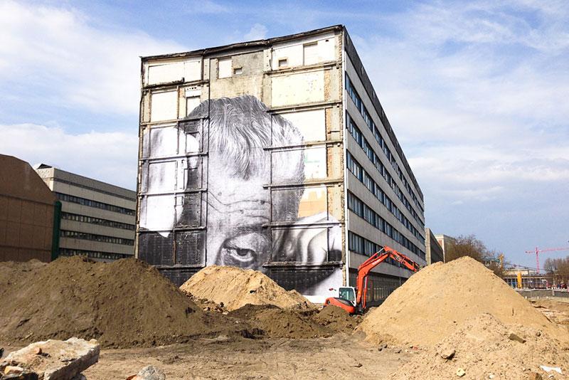 JR Wrinkles A berlin - Photo copyright Didier Laget