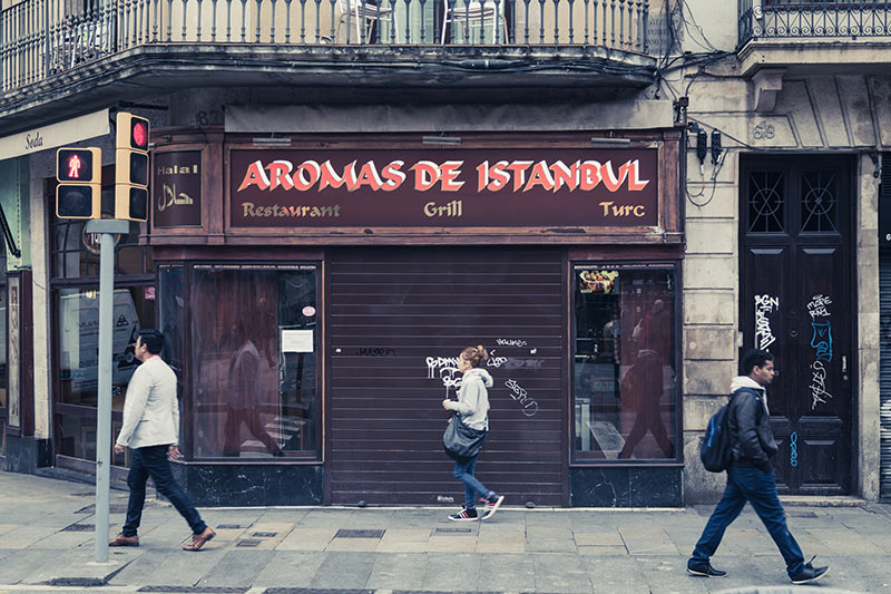 Kebab à Barcelone- Photo Didier Laget