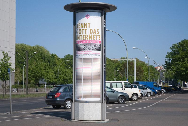 kennt-gott-das-internet A berlin - Photo copyright Didier Laget