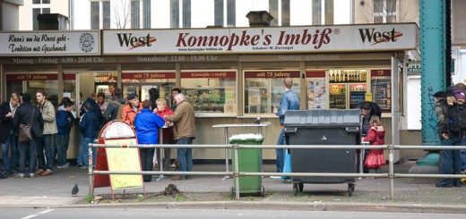 konnopke-imbiss- A berlin - Photo copyright Didier Laget