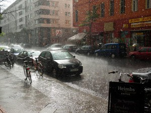 kreuzberg-sous-la-pluie A berlin - Photo copyright Didier Laget