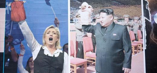 Le Pen et Kim Jong-un