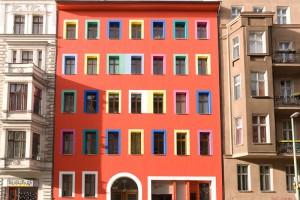 maison-de-couleur-A berlin - Photo copyright Didier Laget