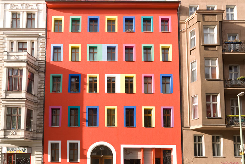 maison-de-couleur-A berlin - Photo copyright Didier Laget