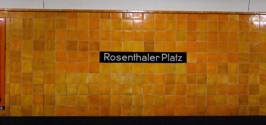 Métro A berlin - Photo copyright Didier Laget