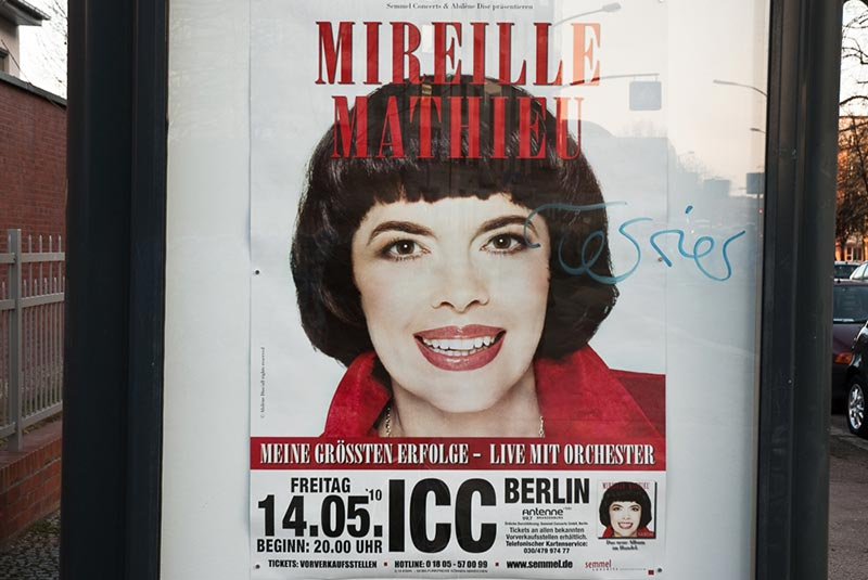 mireille-mathieu A berlin - Photo copyright Didier Laget