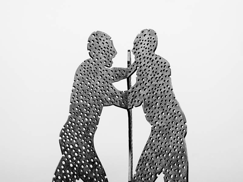 Molecule man Jonathan Borofsky , Photo Didier LAget