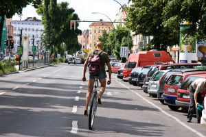 monocycle A berlin - Photo copyright Didier Laget