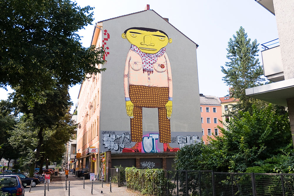 os-gemeos A berlin - Photo copyright Didier Laget
