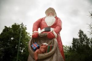 Le Père Noël habite en Allemagne