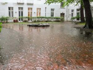 pluie à Berlin
