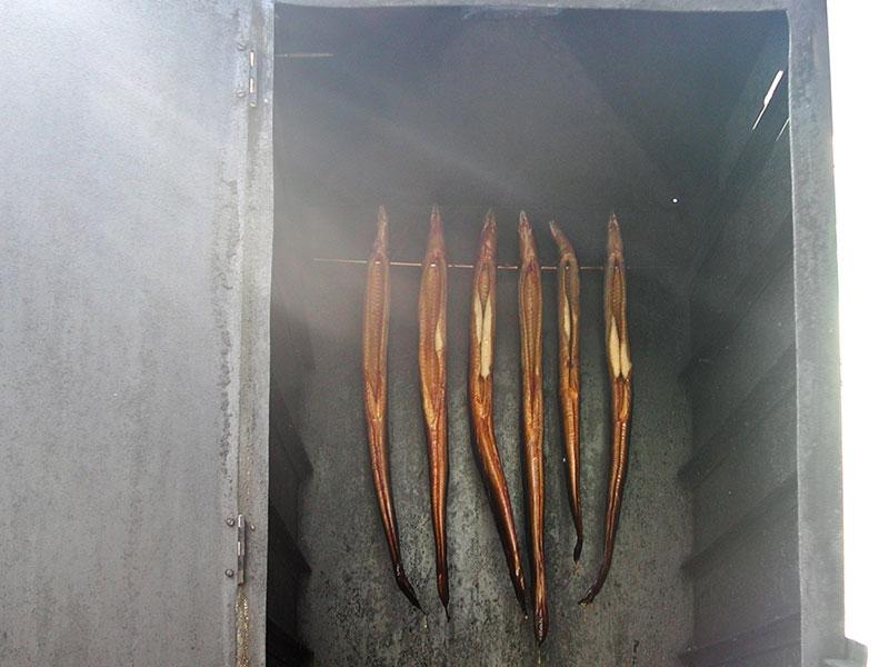 Poisson fumé à Warnemünde
