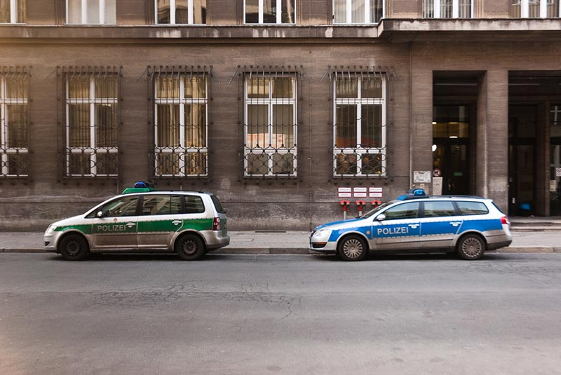 polizei A berlin - Photo copyright Didier Laget