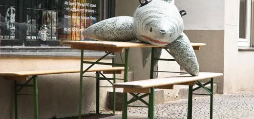 requin à Kreuzberg A berlin - Photo copyright Didier Laget