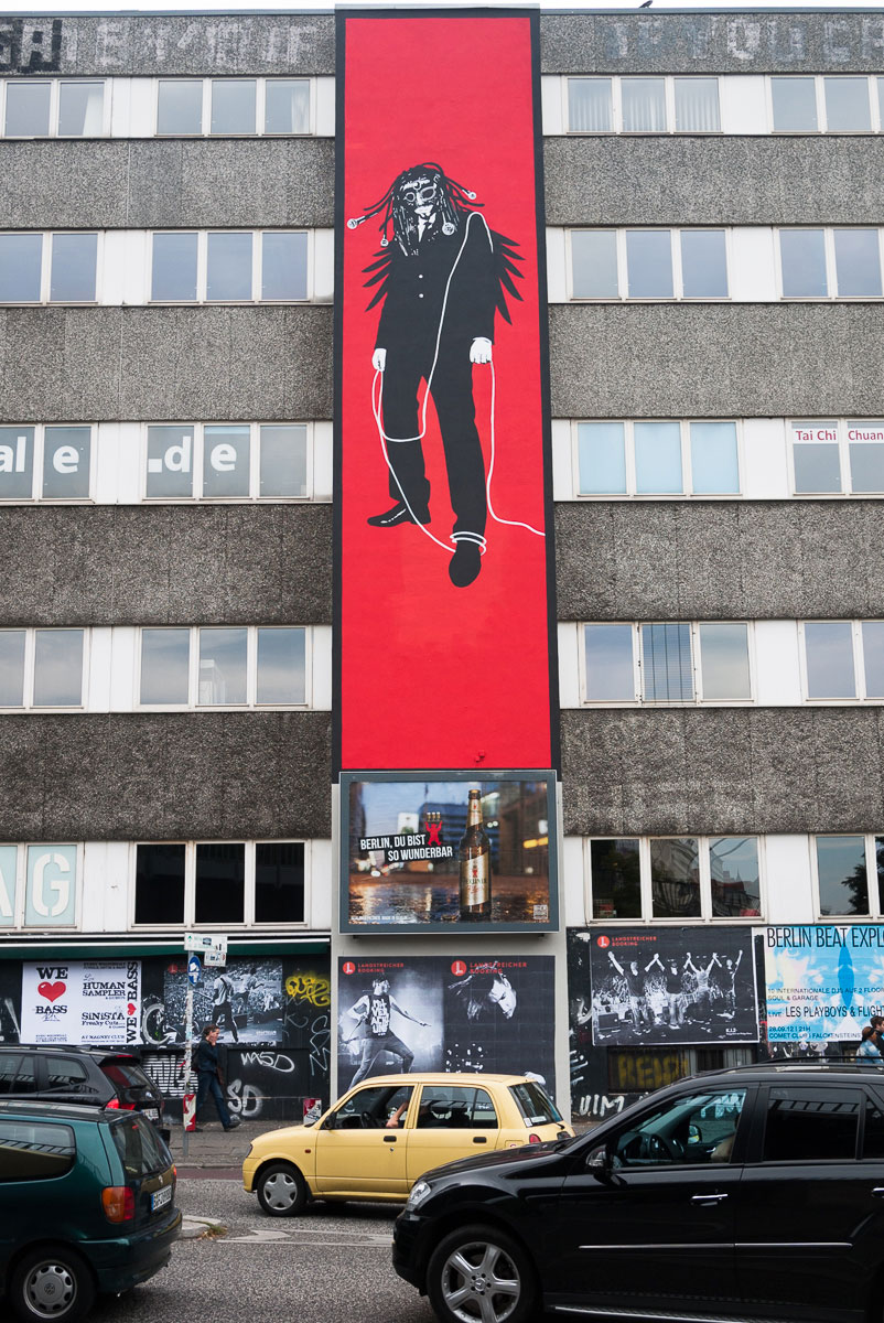 seeed- A berlin - Photo copyright Didier Laget