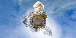 Tiny planet - Berlin L'Astronaut Cosmonaut