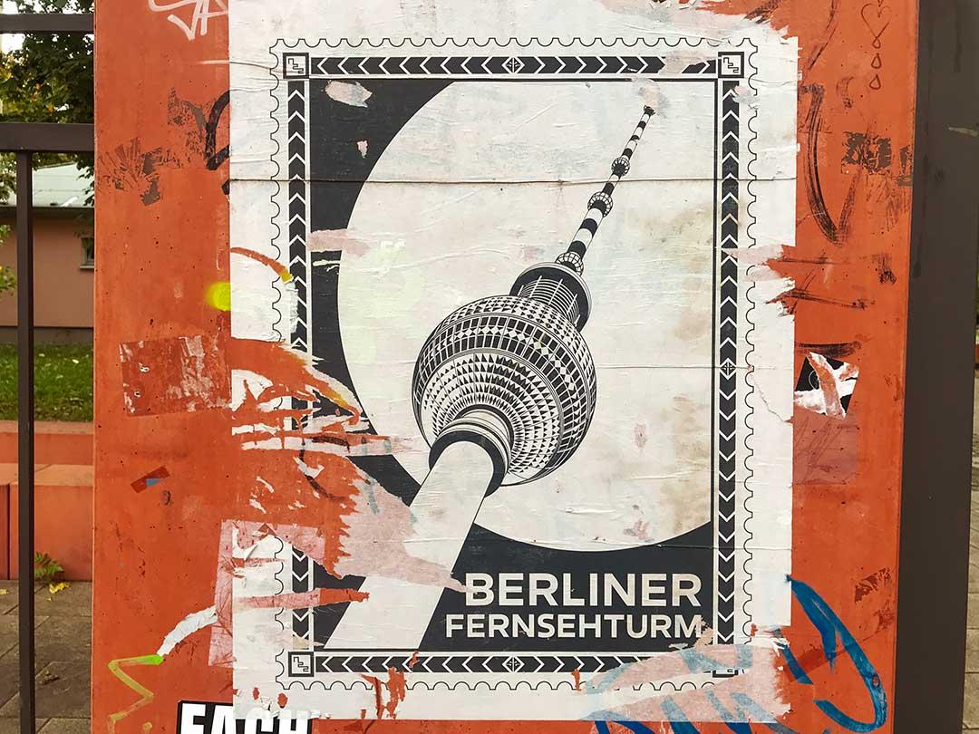 La tour de TV de Berlin du mois de novembre 2020