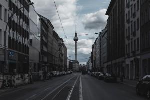 La tour de TV d'de Berlin en Octobre