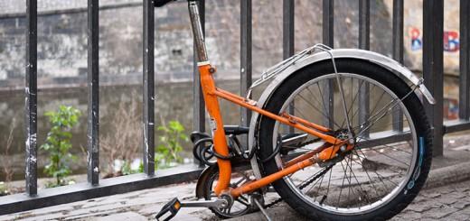 UN bout de vélo sur le Landwehr Kanal - Photo Didier Laget