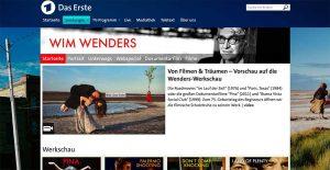 Wim Wenders Werkschau