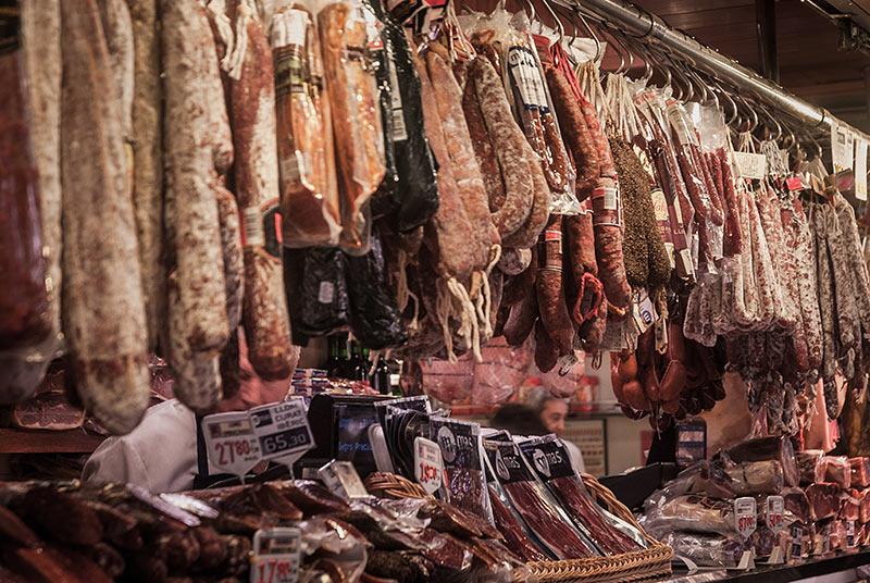 Un élevage de saucisses -  Photo Didier Laget